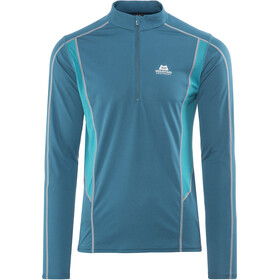 Mountain Equipment M's Ignis LS Zip Tee Legion Blue/Tasman